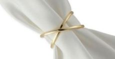 White Luxury Linen Napkin